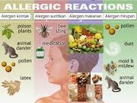 Alergi, Penyebab, Gejala dan Pengobatannya