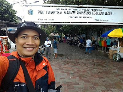 Berkunjung ke Pulau Pramuka, pusat Pemerintahan Kabupaten Administrasi Kepulauan Seribu.