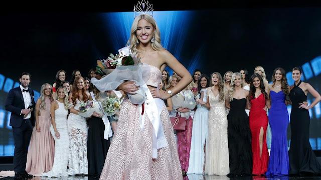 South Australian-born speech pathologist Olivia Rogers crowned Miss Universe Australia