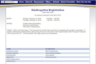 Franklin Kindergarten Registration - Feb 12-13