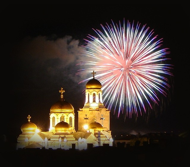 Fiestas locales Valladolid 2013 - Fireworks © M. Dimitrova