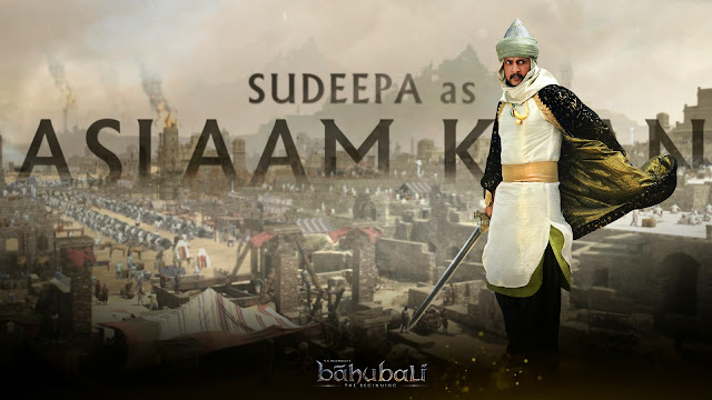 Baahubali Movie Posters Sudeep