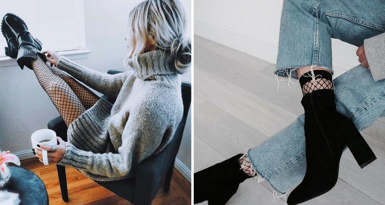 mode, style - la tendance résille 2017 8 looks Pinterest - comment porter la résille - Deuxaimes