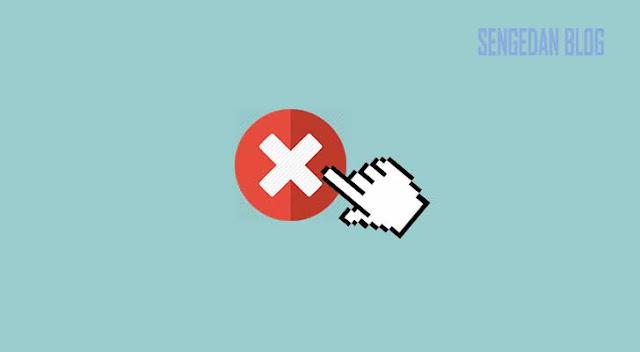 Cara Agar Gambar Tidak Bisa di Klik pada Blogger