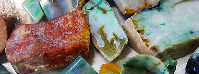 Myanmar rough Jade & Jadeite