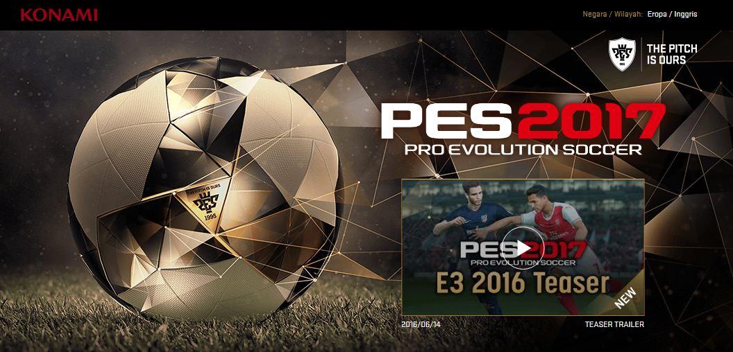 Pro Evolution Soccer 2017 (PES 2017) Full Version For PC