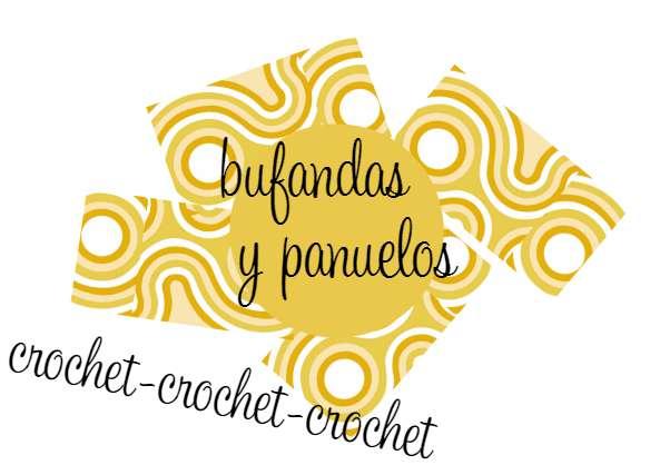 Patron Crochet Bufanda Cadenetas