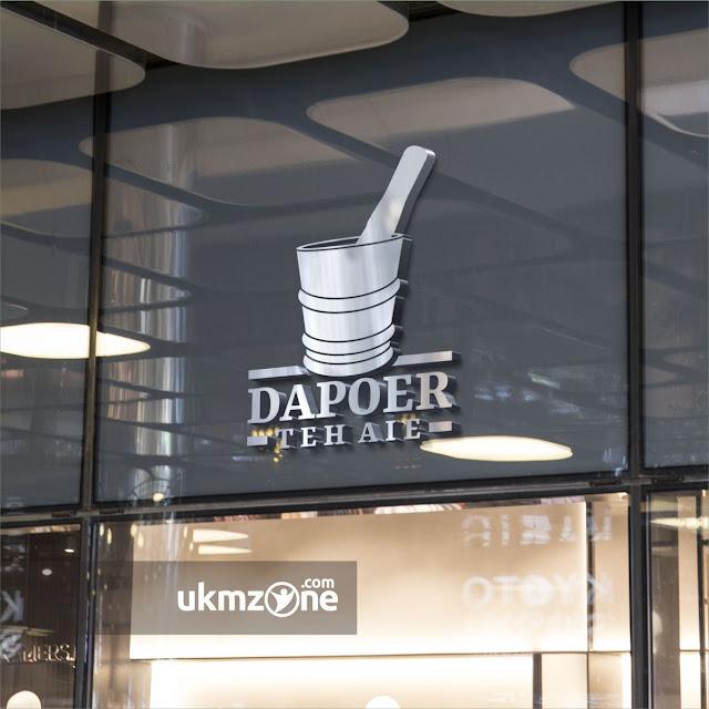 Desain logo kuliner resto tempat makan umkm ukm ikm