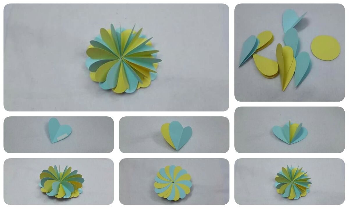 Make easy simple paper flower crazzy craft make easy simple paper flower mightylinksfo