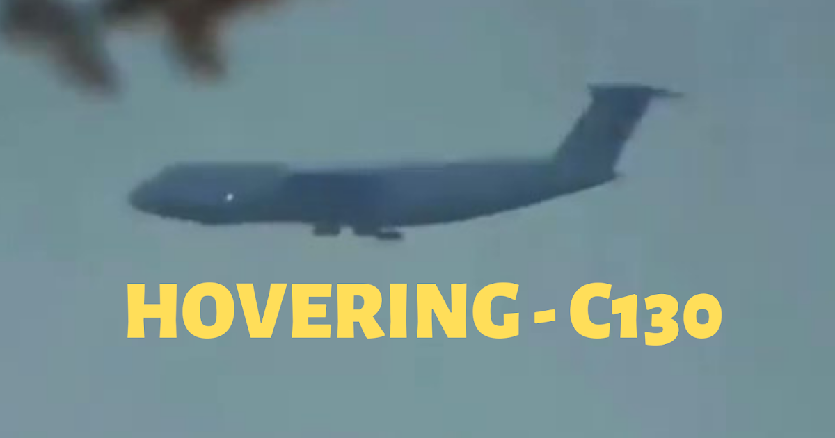 C130 Massive Cargo Plane Hovering In Mid Flight Over New Jersey 🛸🌞🚁🛰📡