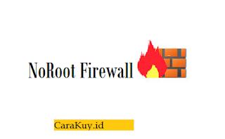 no root firewall aplikasi
