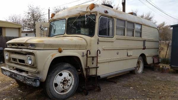 Restoration Project Cars 1963 Chevy Bus Conversion Project