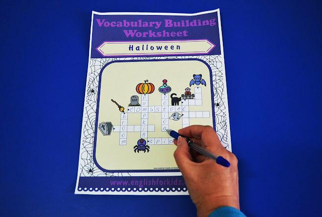 Printable Halloween crossword puzzle