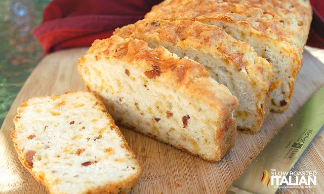 http://www.theslowroasteditalian.com/2013/06/bacon-cheddar-beer-bread.html