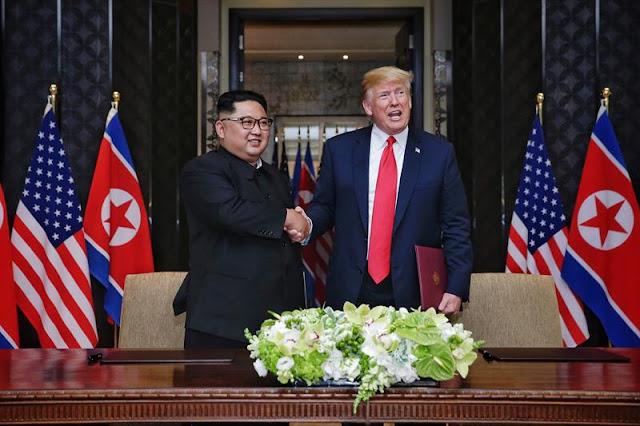 """Os dois países se comprometeram em cooperar para desenvolver novas relações e para a """"promoção da paz, prosperidade e segurança"""""""