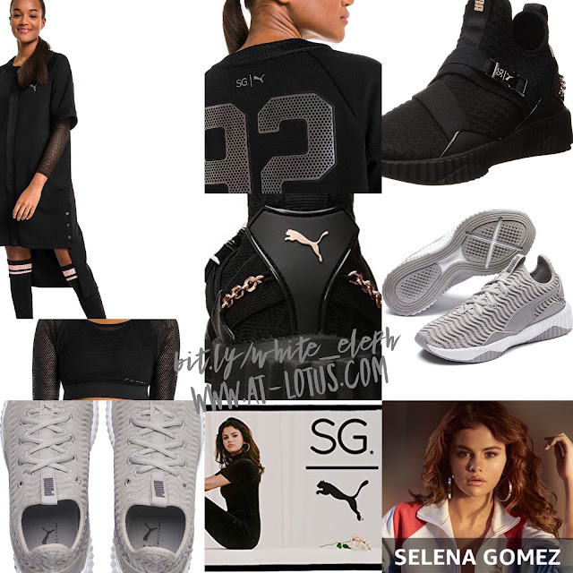 0cfa71305b52f White Elephant Gifts - Gift Guide and Ideas: Selena Gomez X PUMA ...