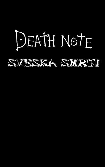 Sveska Smrti 1 - Manga