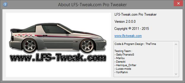 lfs 0.6b pro tweaker