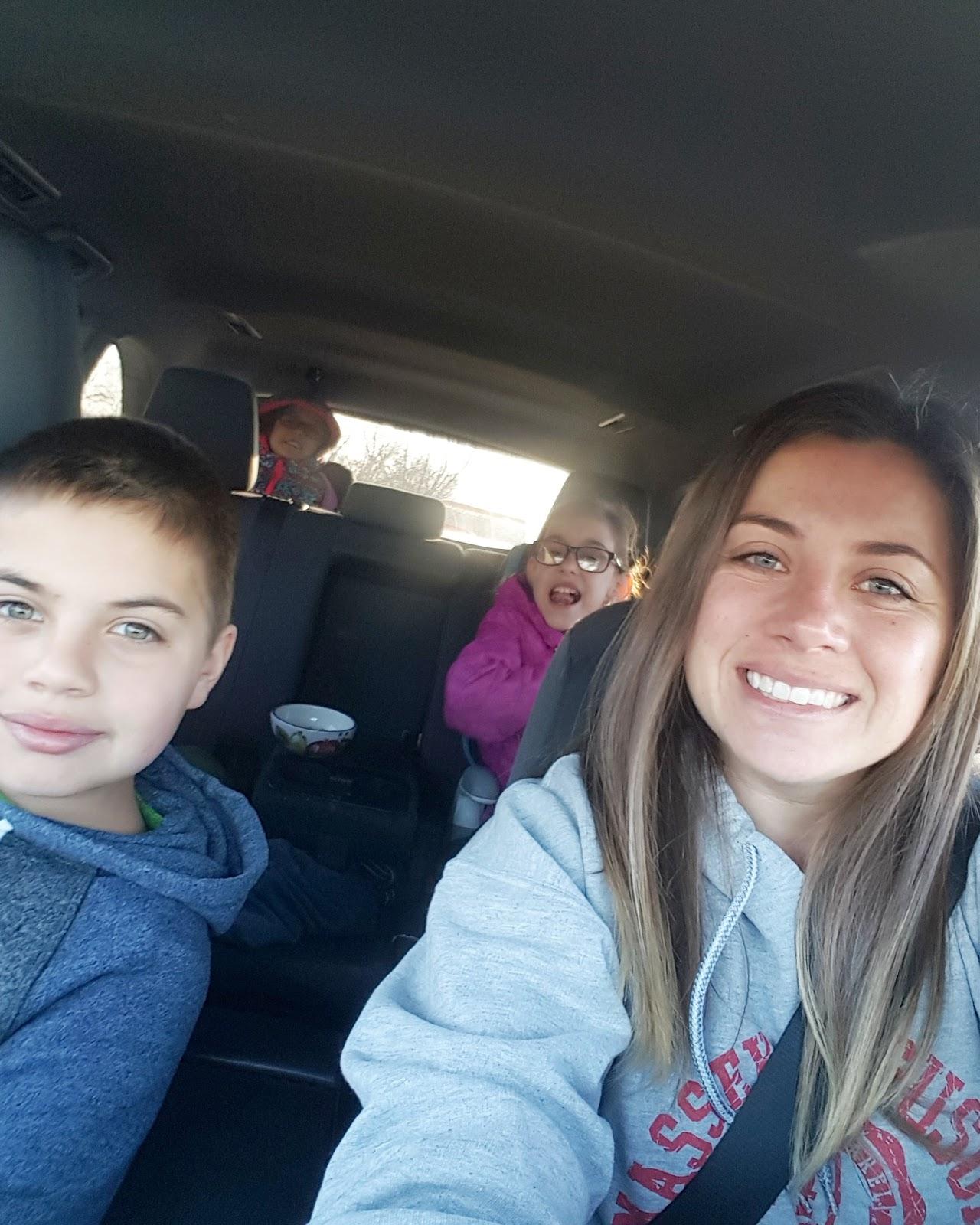 mehaffey moments family selfie