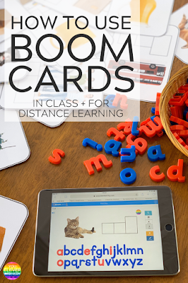 How and Why I Recommend Using BOOM Cards in Class | you clever monkey