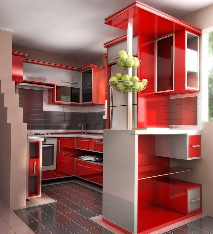 outstanding modern red kitchen | Modern Red kitchen Designs - Dwell Of Decor