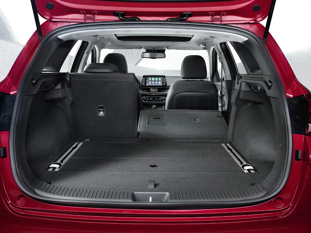 Novo Hyundai i30 Wagon 2018 - porta-malas