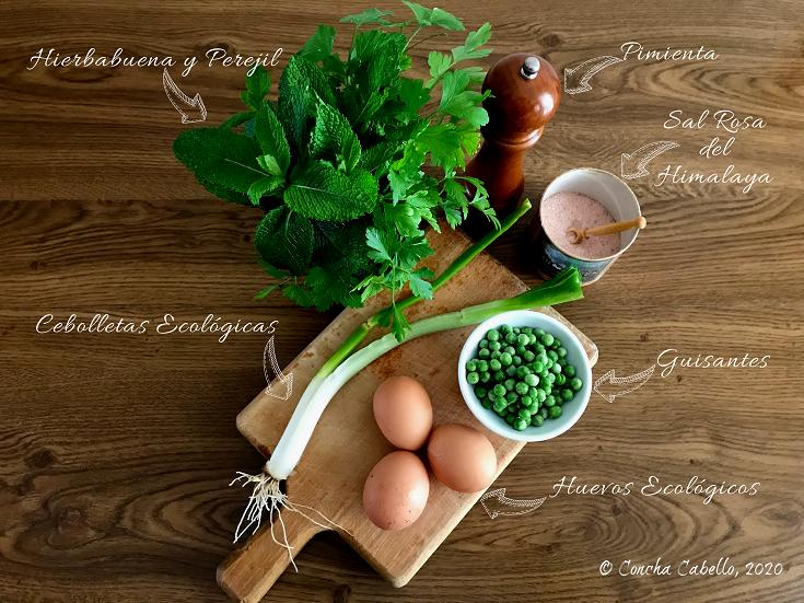 tortilla-guisantes-hierbabuena-perejil-mise