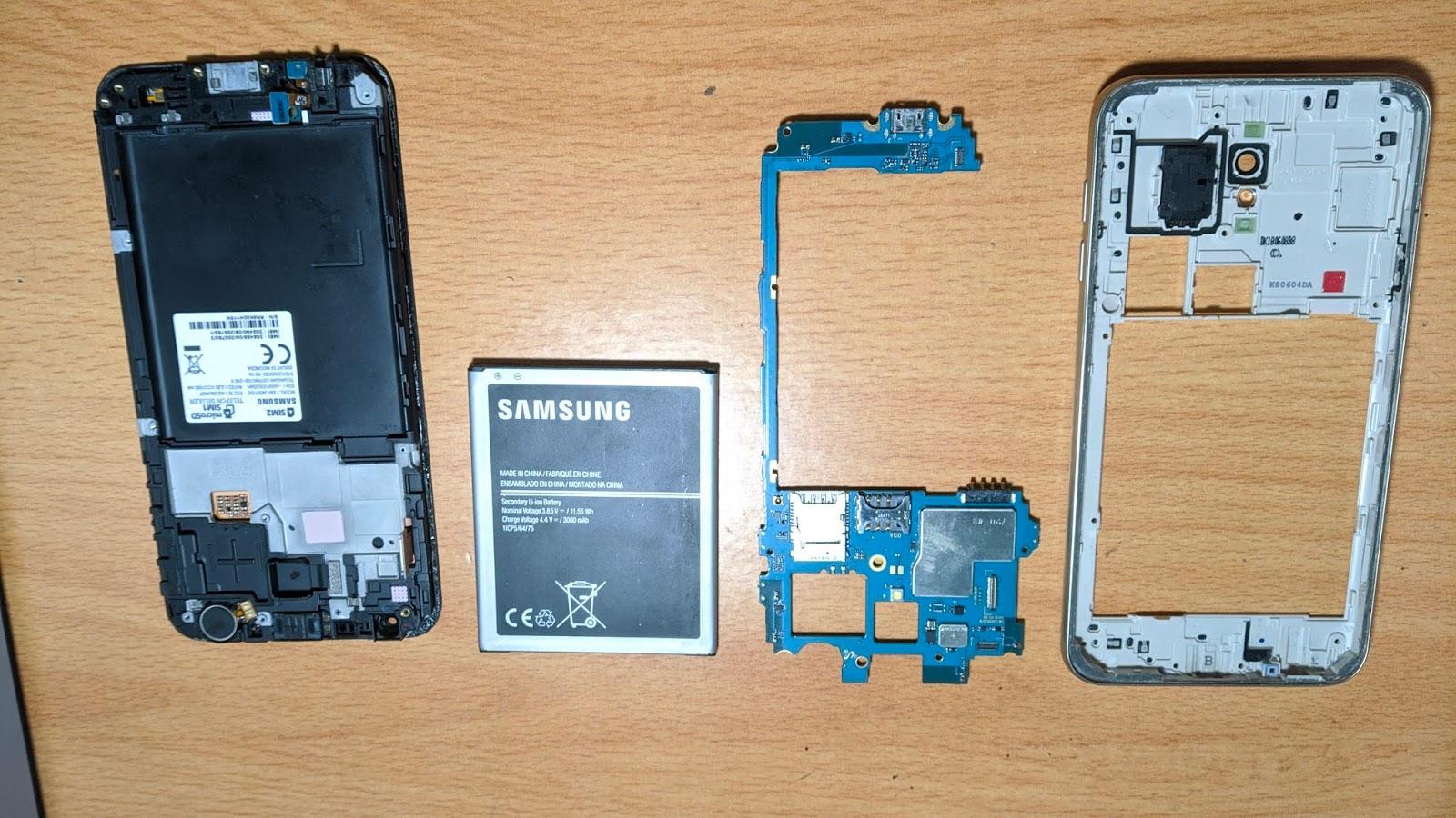 Memperbaiki HP Android Masuk Air