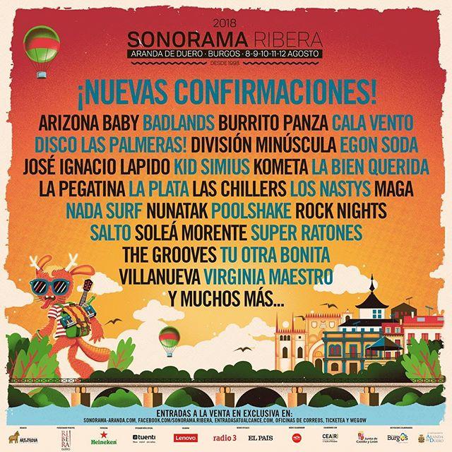 Sonorama Ribera 2018