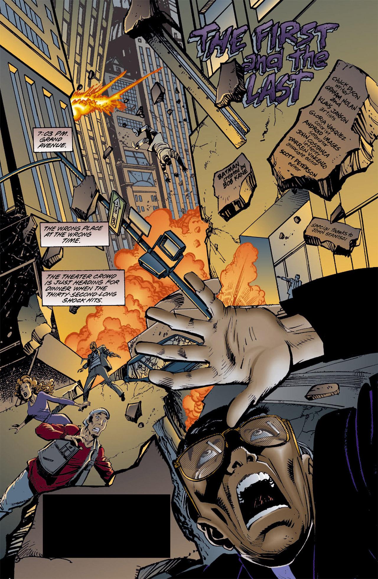 Detective Comics (1937) 720 Page 1