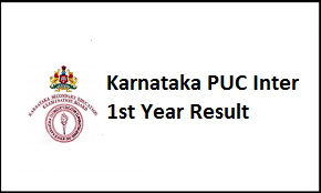 Karnataka PUC Inter 1st Year Result 2017