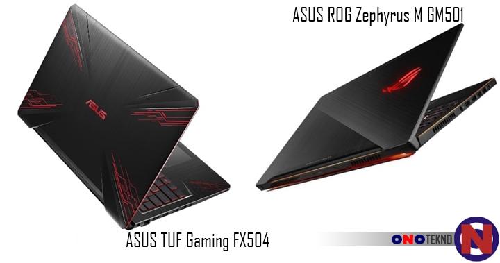 ASUS Hadirkan Intel Coffee Lake Pertama Kali Pada ASUS TUF Gaming FX504 dan ASUS ROG Zephyrus M GM501