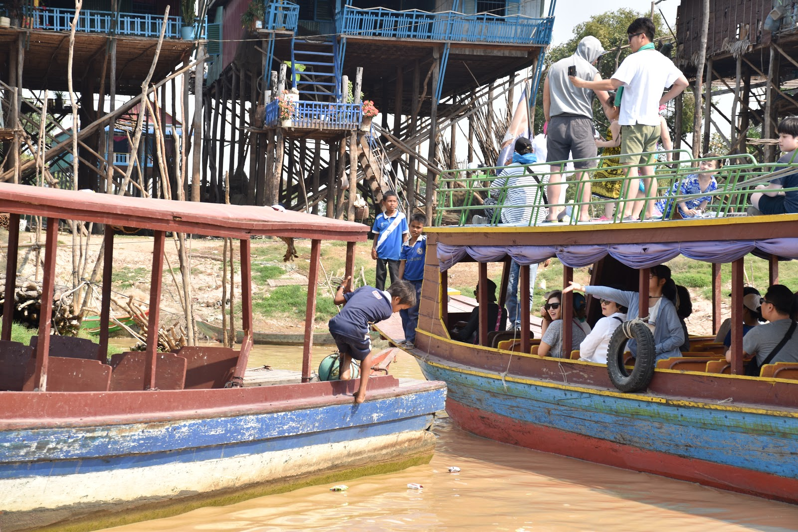 Floating Village, Siem Reap, Cambodia