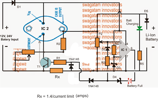 High current Li-Ion Charger with Current Control Facility
