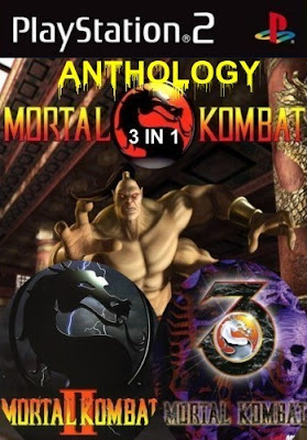 Mortal Kombat: Anthology 3 em 1 (PS2)
