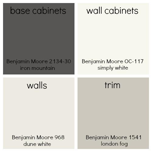 benjamin moore color choices farmhouse kitchen