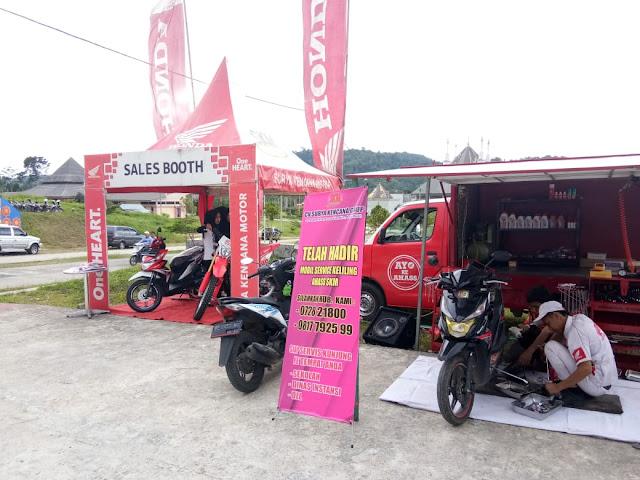 Dealer Honda SKM Liwa Hadirkan Mobil Service Keliling | 'Salam Satu Hati'