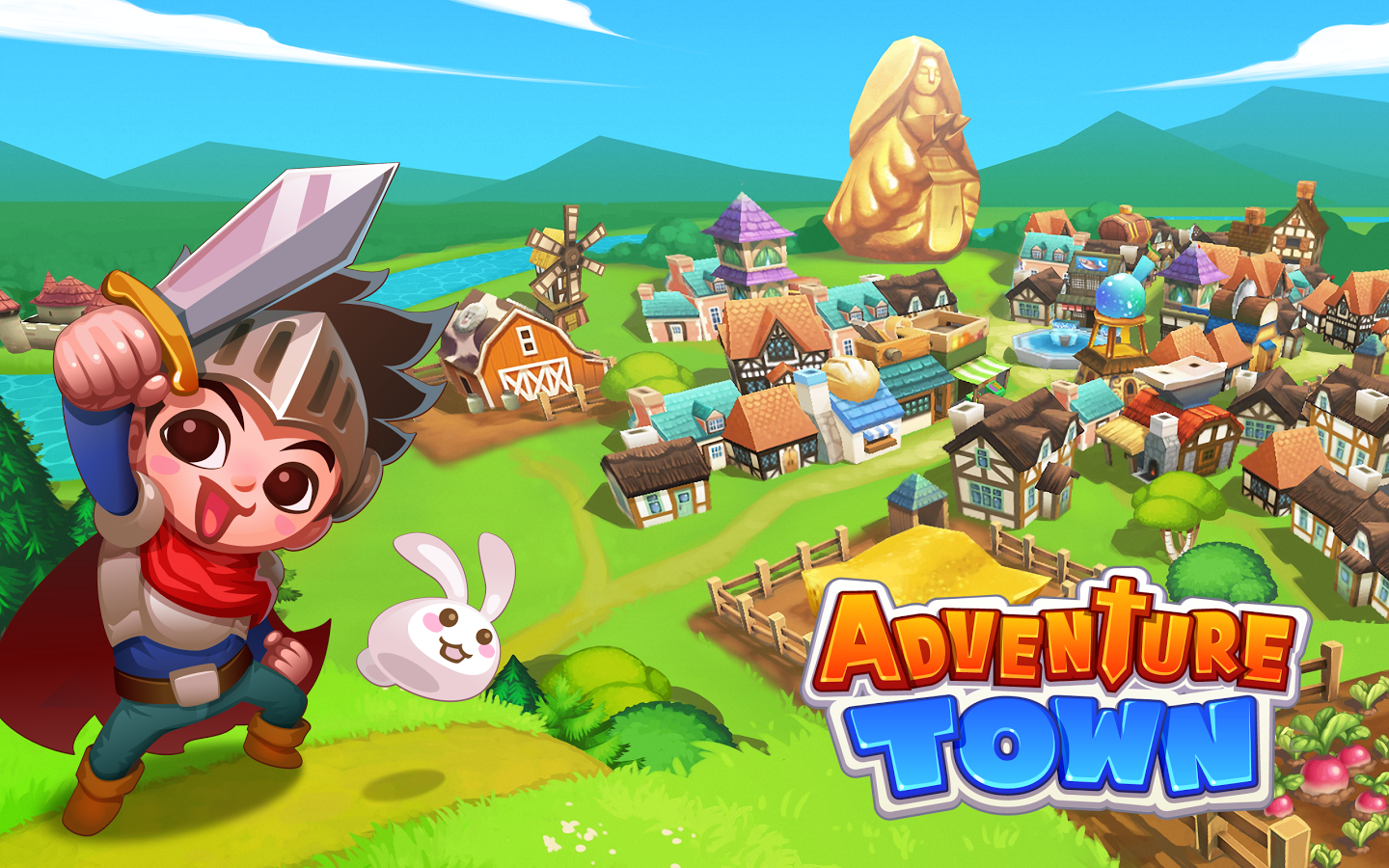 Adventure Town Mod Apk (Unlimited Golds and Crystals) Free ...