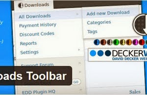 EDD toolbar plugin