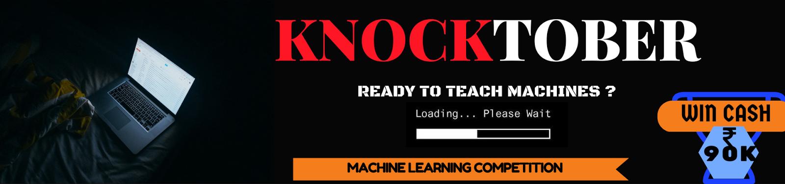 Knocktober - Analytics Vidhya Hack ! | Journey in Data Science