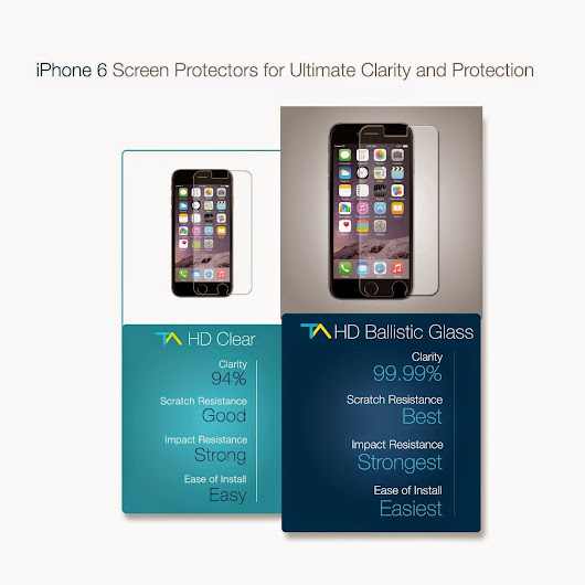 iPhone 6 Screen Protector with Lifetime Warranty by Tech Armor