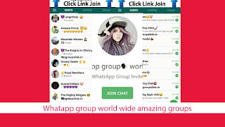 Whatapp group world wide amazing groups