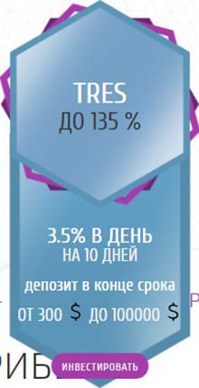 Инвестиционные планы Financ Liberty LTD 3