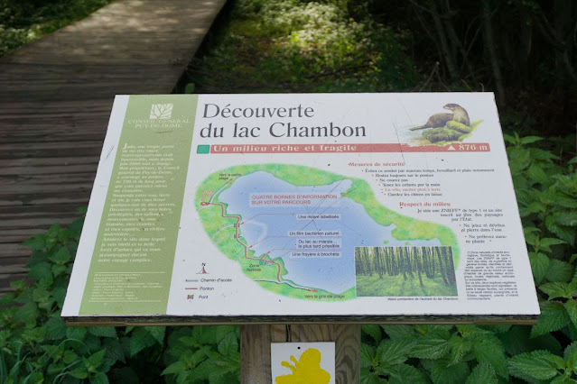 Lacul Chambon Masivul Central Francez