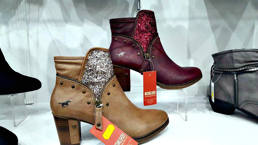 Mustang, Glitter Boots, Cordners, Shop Ballymoney, The Style Guide Blog