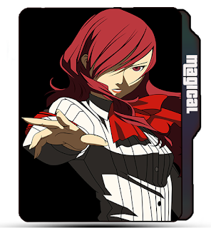 Fairy Tale Folder icon, Erza Scarlet, Red hair, Anime girl, Attitude girl, anime folder icons, tv shows