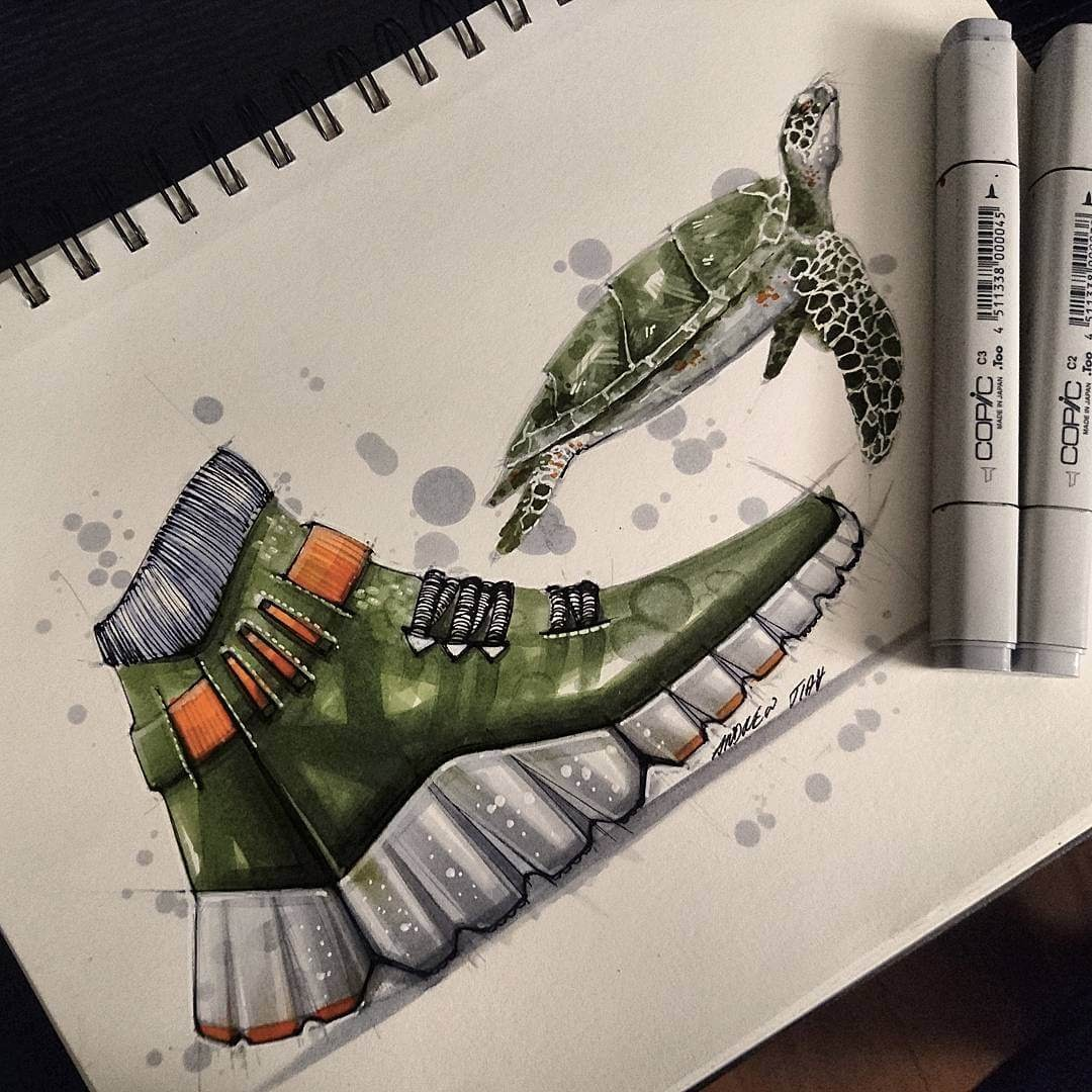 01-Loggerhead-Turtle-trainers-TiahDesign-Animal-Inspiration-for-Product-Design-www-designstack-co
