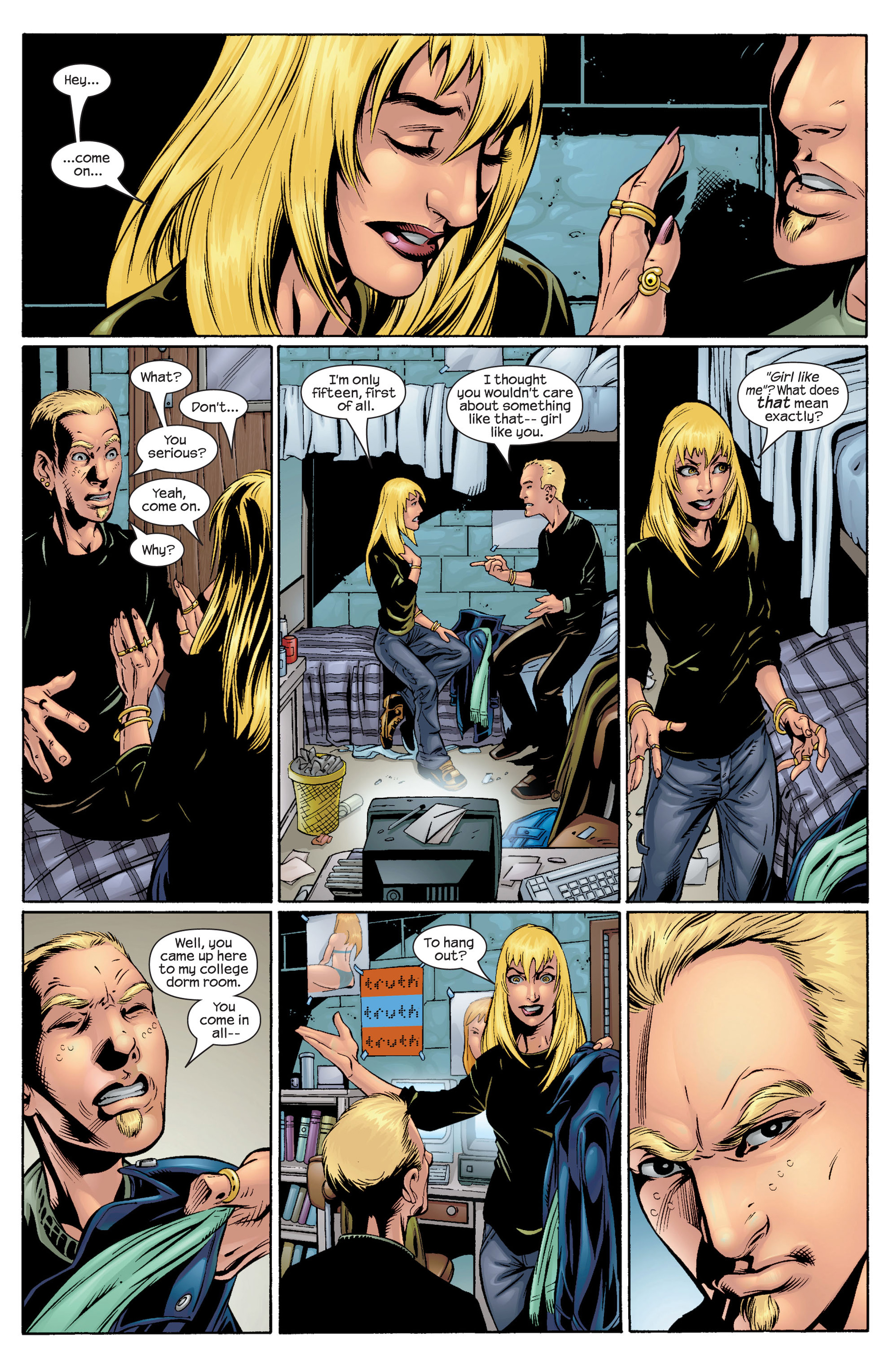 Read online Ultimate Spider-Man (2000) comic -  Issue #36 - 4