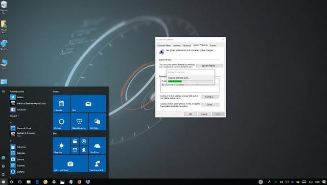 cara mengaktifkan recovery windows 10