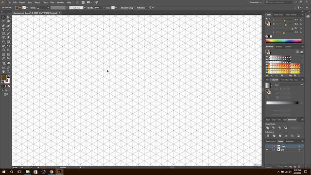 Isometrik, tutorial isometrik, isometrik pemula, illustrator isometrik, desain isometrik